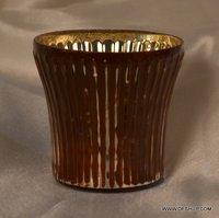 SILVER TEA LIGHT CANDLE HOLDER