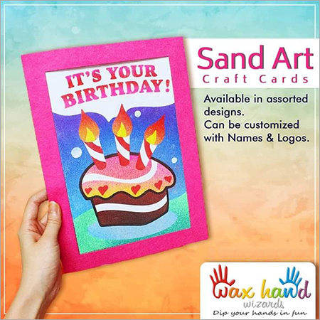 Wax Sand Art Card
