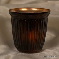SILVER T-LIGHT CANDLE VOTIVE
