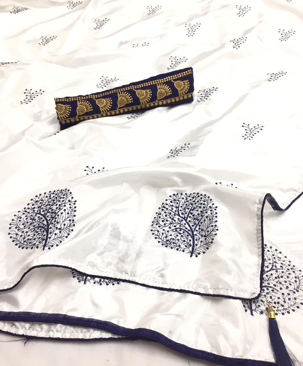 Paper Silk Saree
