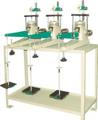 Consolidation apparatus (electronic bench model)