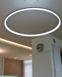 Led Round Ring Aluminium Profile