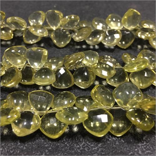 Lemon Quartz Fancy Shape Gemstone