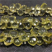 Lemon Quartz Fancy Shape Gemstone