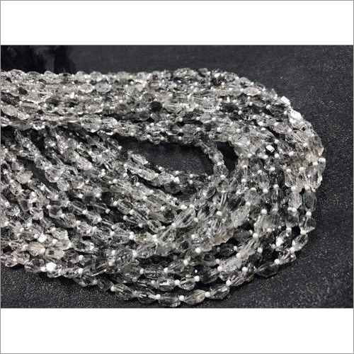 Diamond Quartz Beads