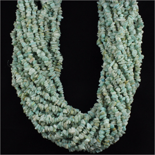 36 Inches Amazonite Uncut Chips Beads