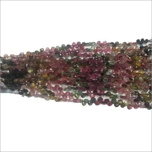 Tourmaline Badam Stone Beads