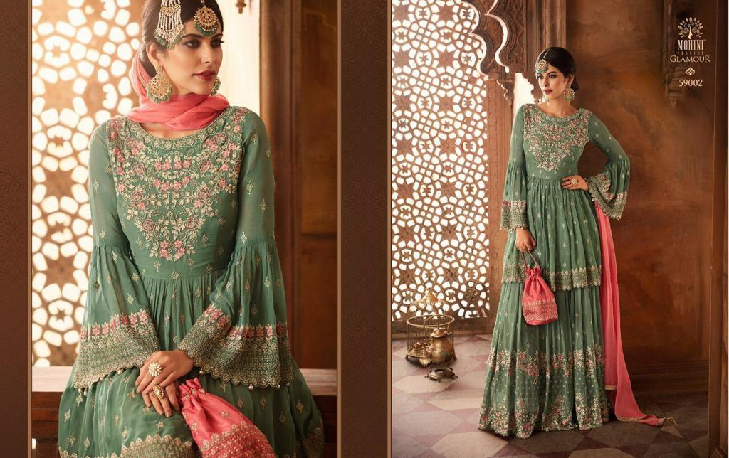 Latest Heavy Designer Anarkali Suits
