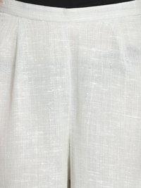 Ladies White Palazzo