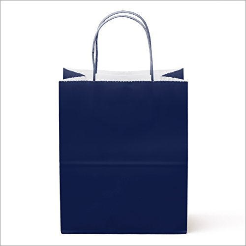 Cotton Rope Color Gift Paper Bag