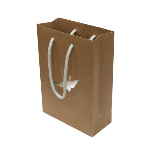 Rope Handle Shopping Kraft Bag