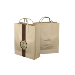 Cotton Rope Printed Shopping Paper Bag