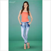 Ladies Denim Jogger
