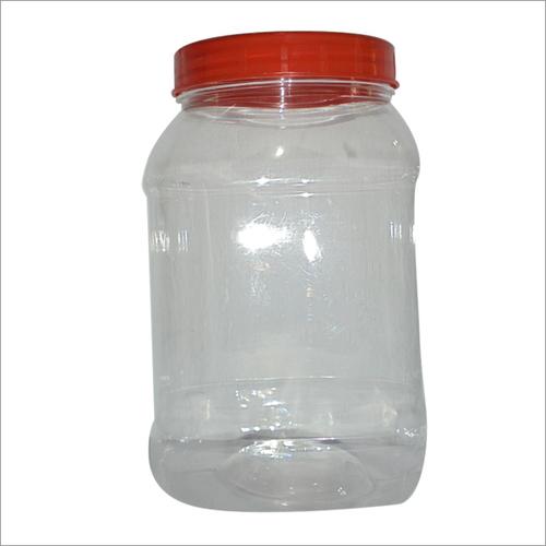 1kg Oval Plastic Jar