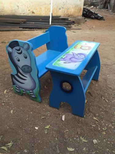 Kids Bleu Ply Bench