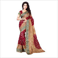 Ladies Bandhani Sarees