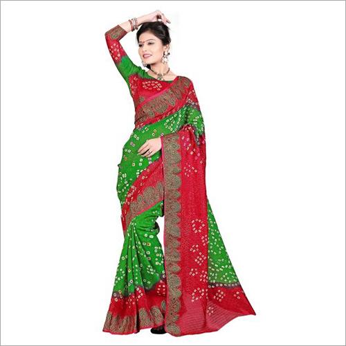 Ladies Regular Bandhani Sarees