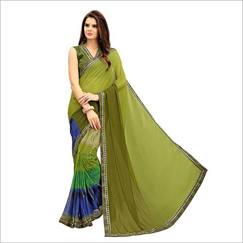 Ladies Trendy Bhagalpuri Silk Saree