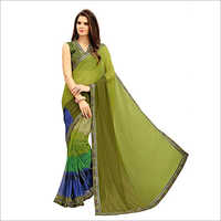Ladies Trendy Bhagalpuri Silk Saree