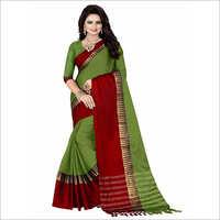 Ladies Designer Art Silk Saree With Blouse