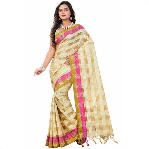 Ladies Trendy Silk Saree
