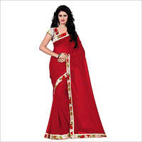 Ladies Trendy Georgette Saree