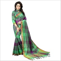 Ladies Trendy Nylon Saree
