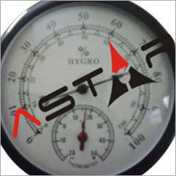In Plastic Thermal Hygrometer