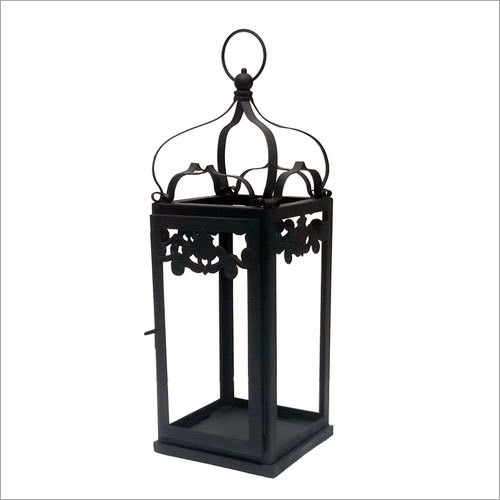 Wrought Iron Candle Lantern