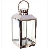 SS Square Candle Lantern