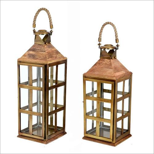 Designer Wooden Lantern