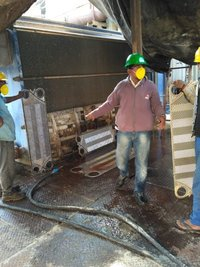 Plate Heat Exchanger Cleaning And Over Hauling