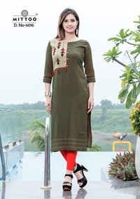 Mittoo Princess Vol 2 Rayon Kurtis