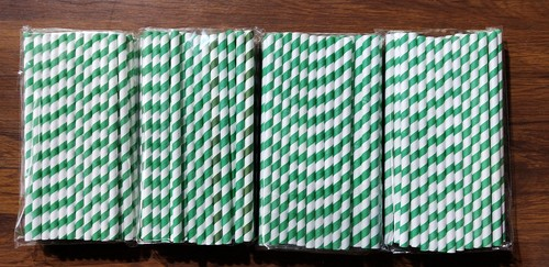 Eco friendly paper straws
