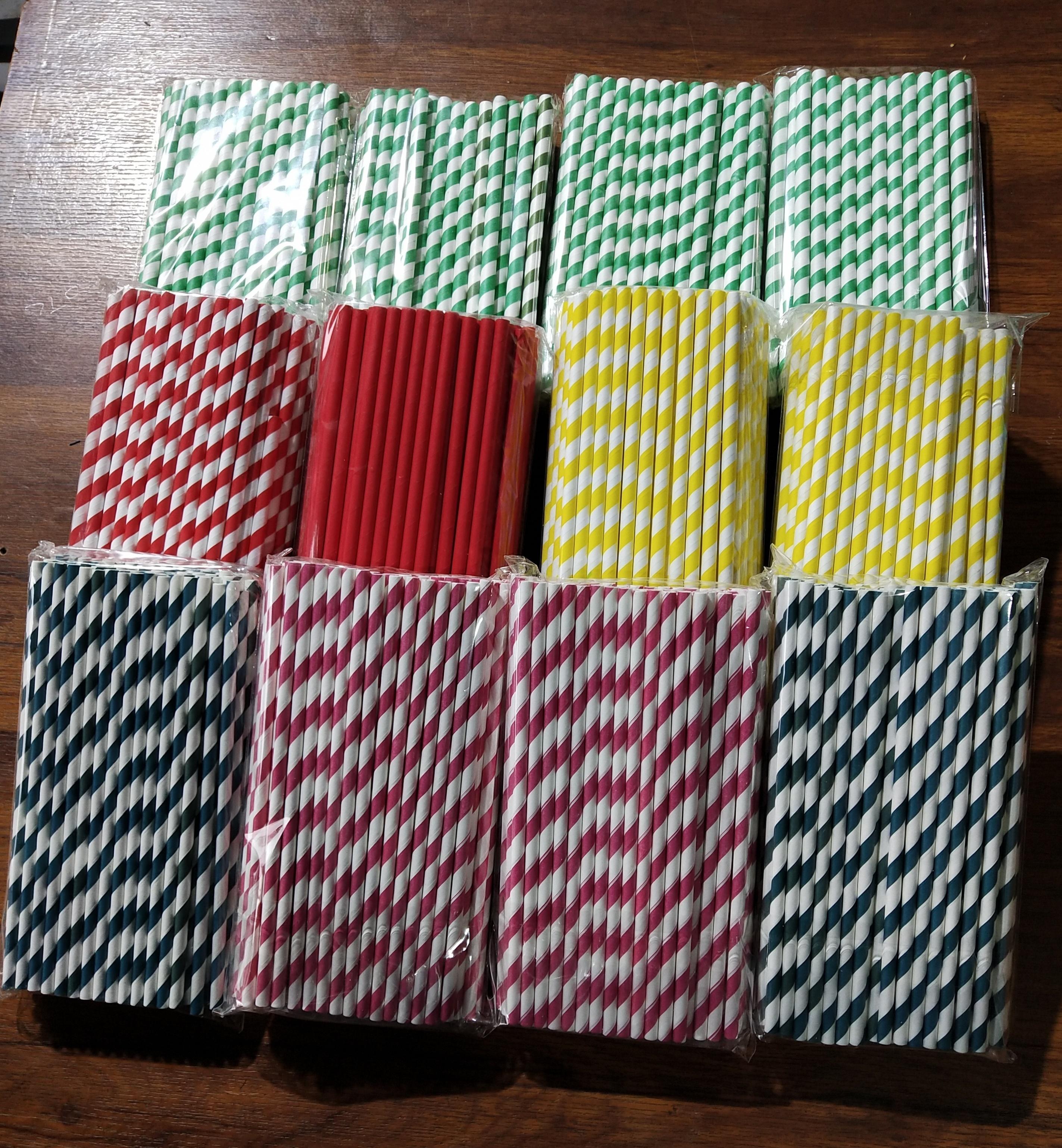 8 mm paper straws