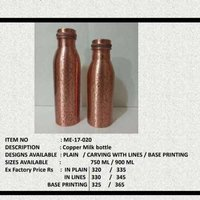 Copper Milk Bottle
