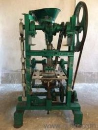 Brick camphor making machine