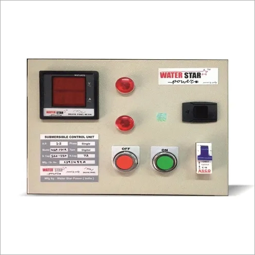 Digital Single Phase Submersible Panel