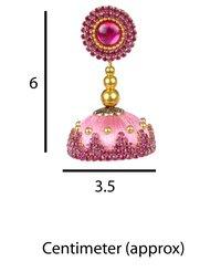 Fashion Silk Thread Stone Earrings