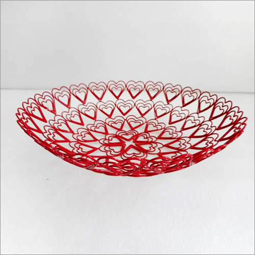 Designer Glass  Basket