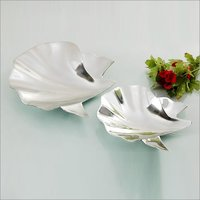 Designer Aluminum Fruit Bowl