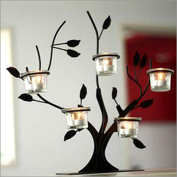 Decorative 4 Cup Candle Stand