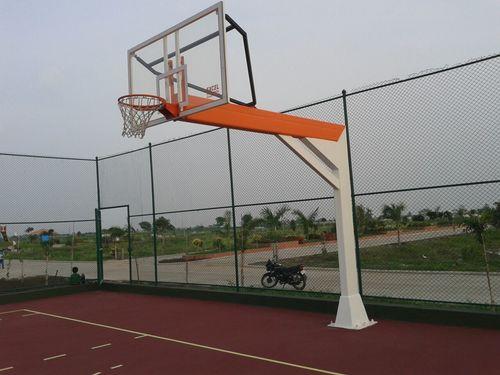 Outdoor Basketball Poles