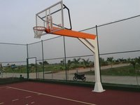 Outdoor Basketball Poles