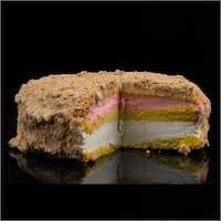 Multi Layer Ice Cream Cake