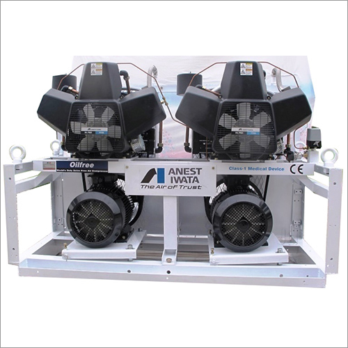 15HP Duplex Oil Free Air Compressor