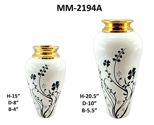 Small & Large Painting Home Decoration Brass Planter