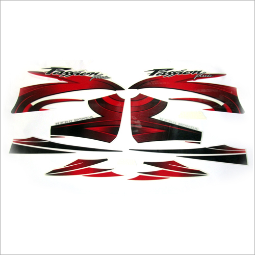 Motorcycle Vinyl Laminated Sticker