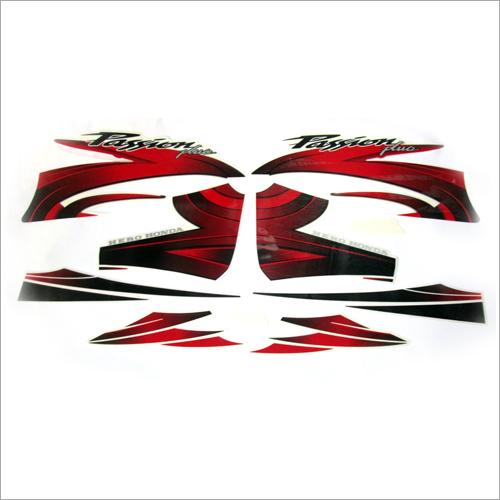 Motorcycle Vinyl Laminated Sticker