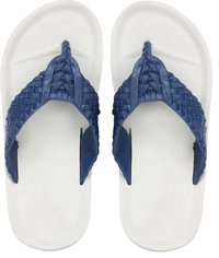 V Shape Blue Mens Slippers